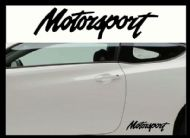 MOTORSPORT CAR BODY DECALS